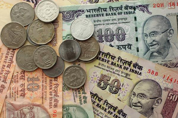rupee gained 13 paise to close at 73 71 per dollar