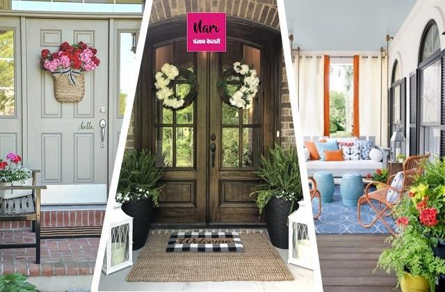 घर के Outdoor Area को सजाने के यूनिक आइडियाज