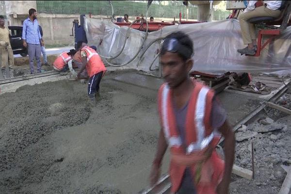 rcp technology used in kashmir for roads