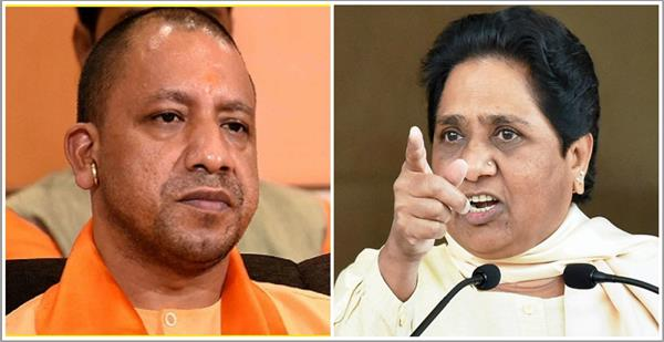 yogi resigns president s rule should be applied in up mayawati