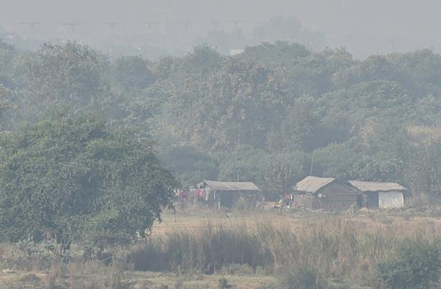 delhi air quality very poor