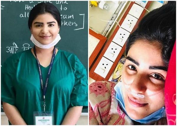 कोरोना की चपेट में आई शिखा मल्होत्रा, एक्टिंग छोड़ नर्स बन कर रही थीं मरीजों की सेवा