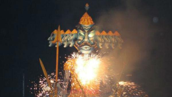 ravana is worshiped in sangola village in maharashtra