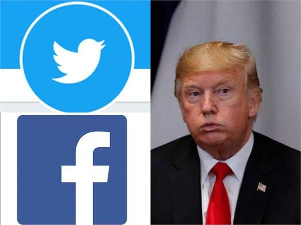 facebook twitter take action over trump s misleading corona posts
