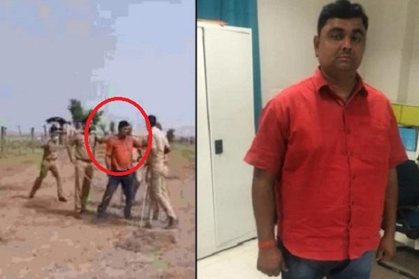 ballia murder case two arrested giving protection to main accused
