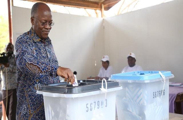 tanzania president john magufuli can be declared winner in election