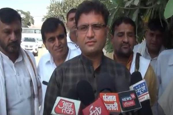 ashok tanwar told the leaders that he was a poor sinful and tyrannical
