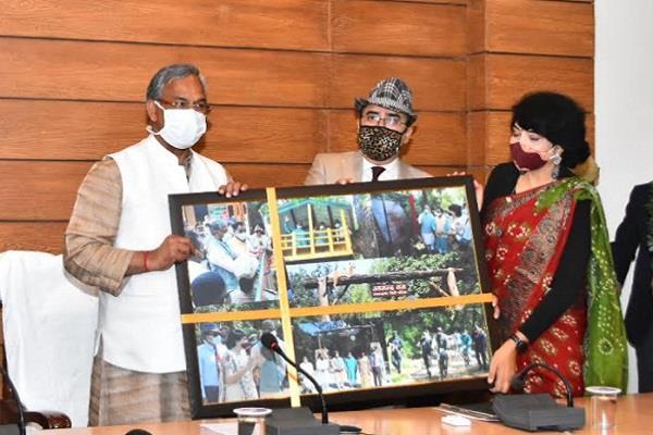 inauguration of e office in uttarakhand forest department