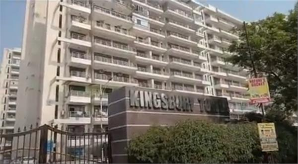 haryana news jumping from the 13th floor the father committed suicide