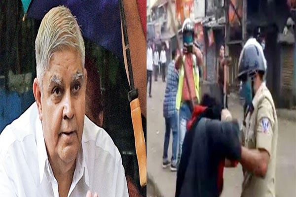 governor attack on mamta banerjee for insulting sikh person