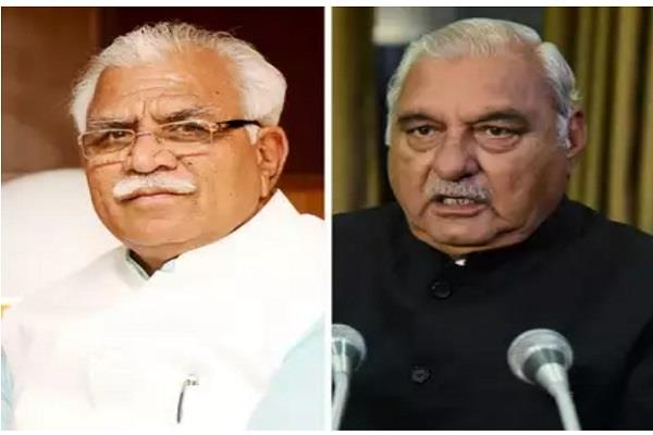 cm challenged sarcasm on hooda if challenged he will defeat general bjp worker