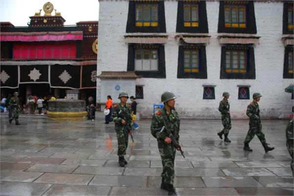 china opens hundreds of security centers in tibetan capital lhasa