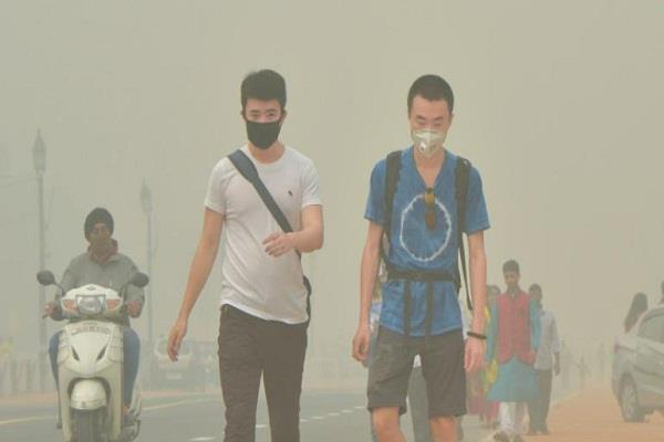 air quality of delhi can be very bad on monday