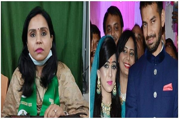 both tej pratap s wife and sister in law did not get tickets