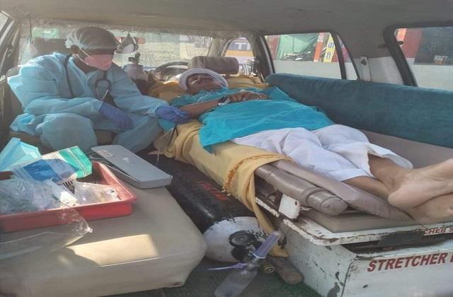 bjp candidate praduman singh s health deteriorates