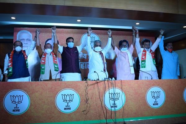 many leaders including rlsp general secretary arun kumar join bjp
