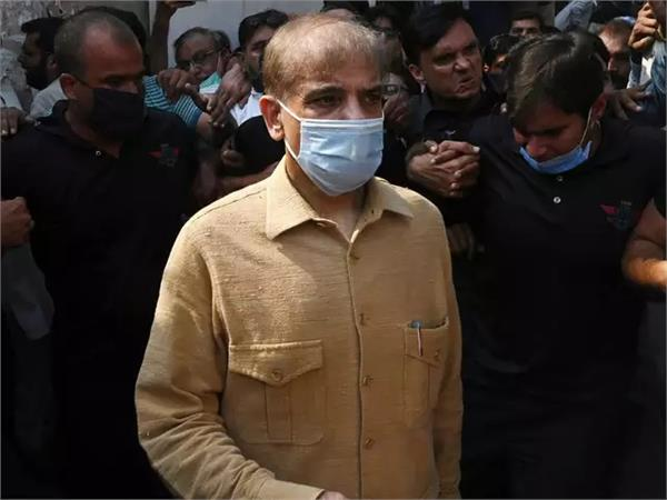 shehbaz sharif sent to jail in money laundering case