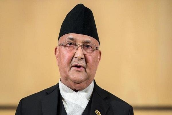 pm oli removes big defense minister ishwar pokharel