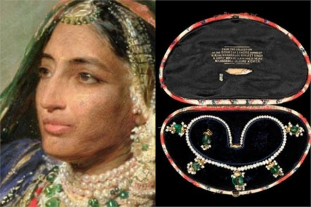 jewels from maharaja ranjit singh s treasury auctioned in london