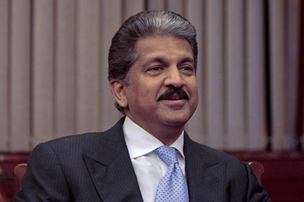 monkey was happily sitting on dth dish anand mahindra named