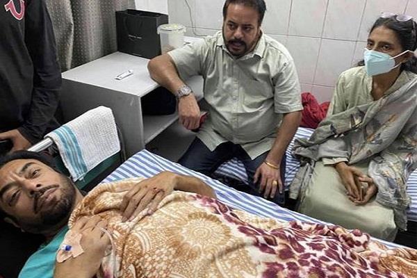 road accident mla harjot kamal chairman vinod bansal
