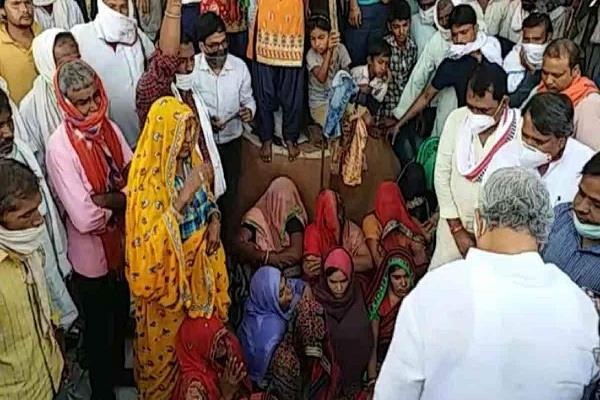 pujari murder case rajasthan government accepts demand