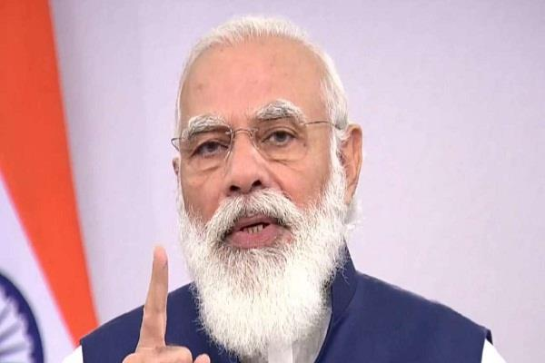 pm modi will address the country today for the seventh time in the corona era
