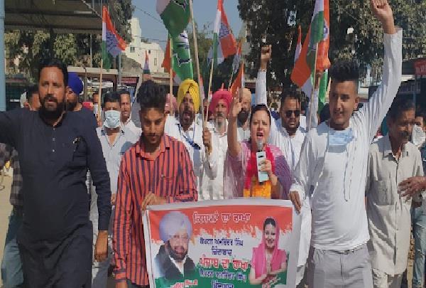 nimisha mehta distributed laddus in mandis on captain decision