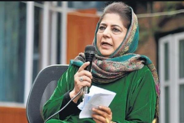 3 leaders leave mehbooba mufti s party saying their comments hurt patriotism
