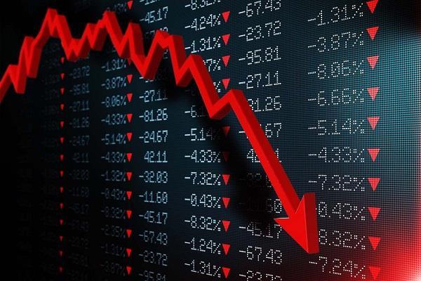 furore in stock market loss of crores to investors