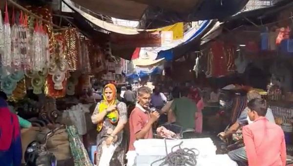 work stopped in corona era now online shopping broke shoppers waist