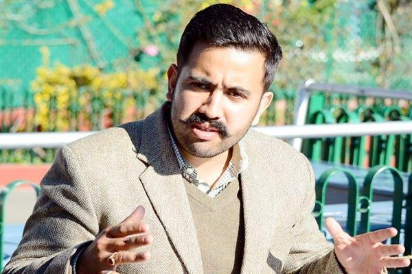 mla vikramaditya singh target on government