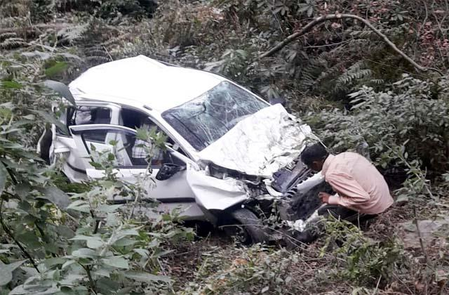 car accident in chamba death of 4