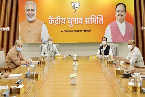 bjp fielded candidates for 46 seats in the second phase of bihar elections
