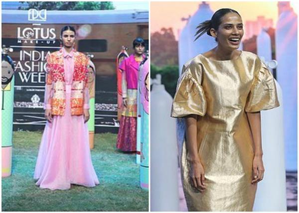 #LMIFWSS21: डिजाइनर राजेश प्रताप सिंह ने की शो की ओपनिंग, पेश की कलरफुल कलेक्शन