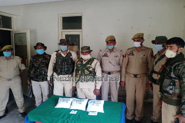 3 2 kg heroin recovered in poonch jammu and kashmir