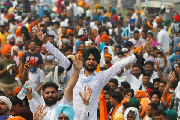farmers  shutdown announced on november 5 in protest against agricultural laws