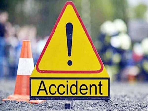 death of grand mother and grand son in road accident