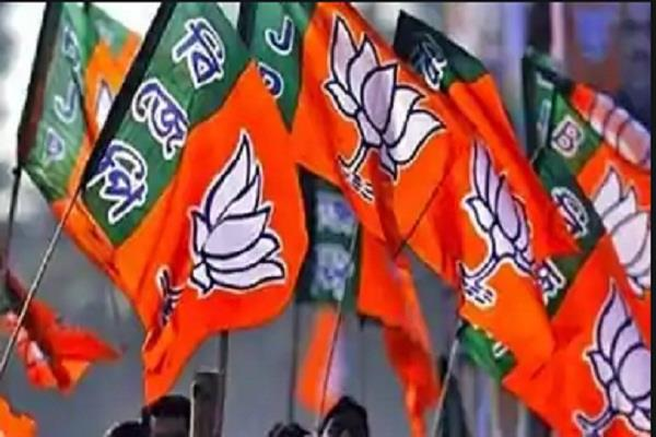 deoria satendra mani tripathi inaugurated bjp office for by election