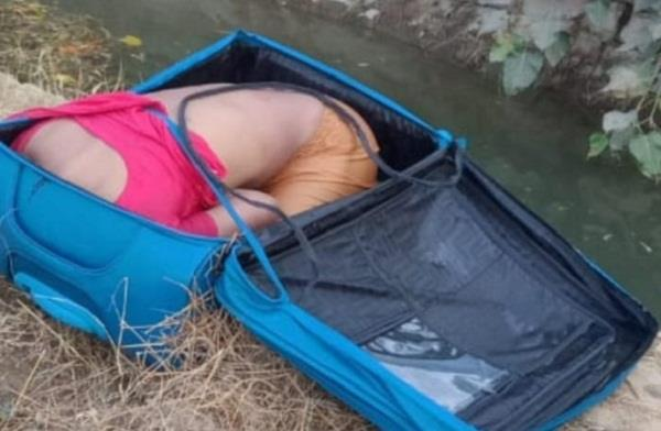 woman s body found in a suitcase