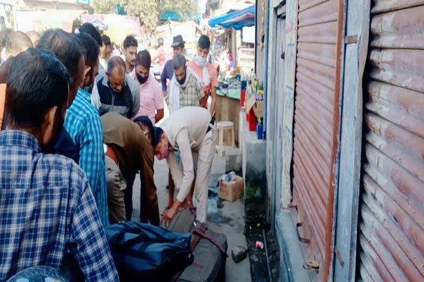 unclaimed bags lying outside shops near jwalamukhi bus base created panic