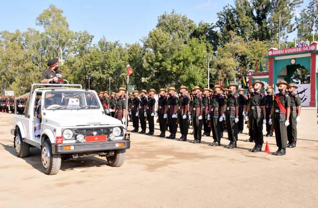136 soldiers taken oath to protect the motherland