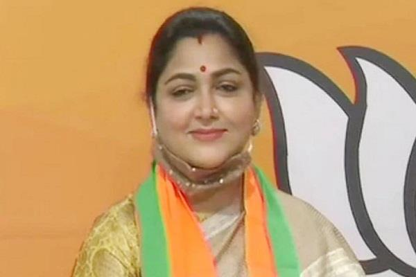 no freedom to speak in congress khushboo sundar