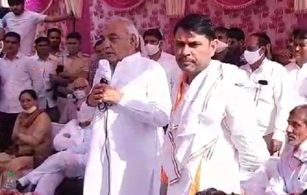 bhupinder singh hooda in baroda byelection commented on manohar