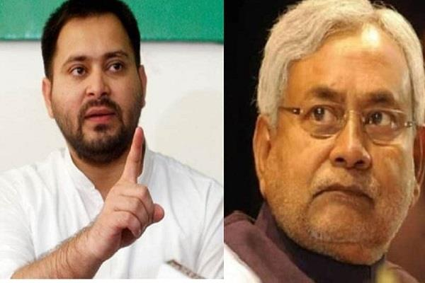 tejashwi attacked nitish said now arrow is not missile