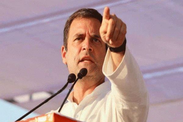 rahul gandhi targets the center on the corona epidemic