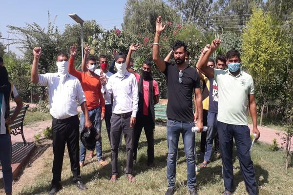 phe department workers demonstrated against demands
