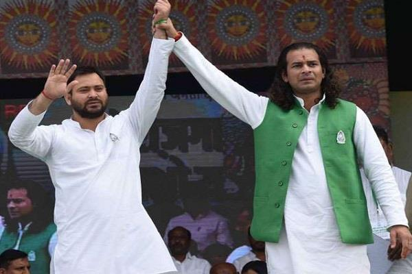 tejashwi attacked nitish in the name of development public was cheated