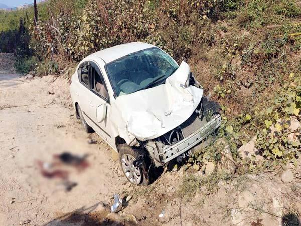 car accident in sundernagar