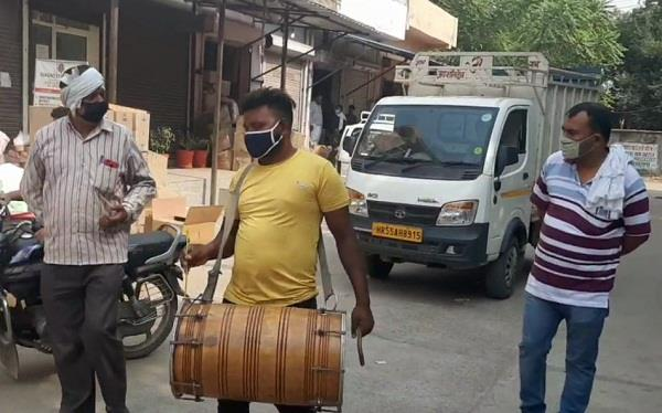 shopkeepers who spread dirt will be challan